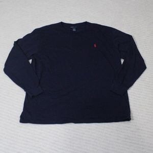 Ralph Lauren Men's XL Navy Long Sleeve Tee